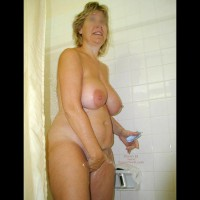Pictures of Wife at Hedo II in Nov 2001