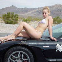 Bianca Getting Naughty On The Vette