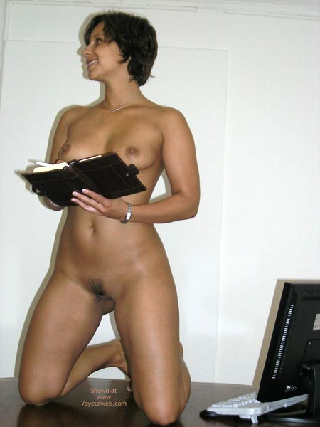 Pic #7 - Justine At The Office