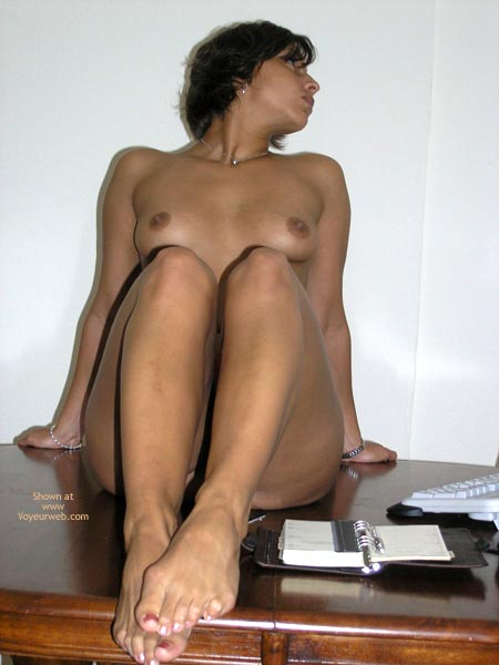 Pic #8 - Justine At The Office