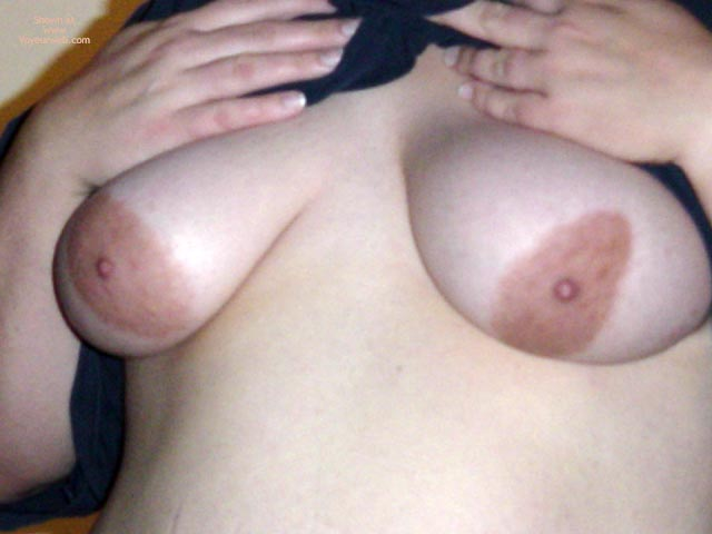 Pic #3 - My Wifes Tits