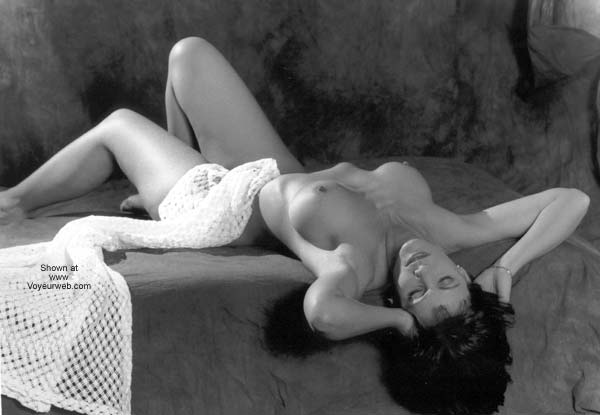 Pic #1 - Breasts in Black and White!