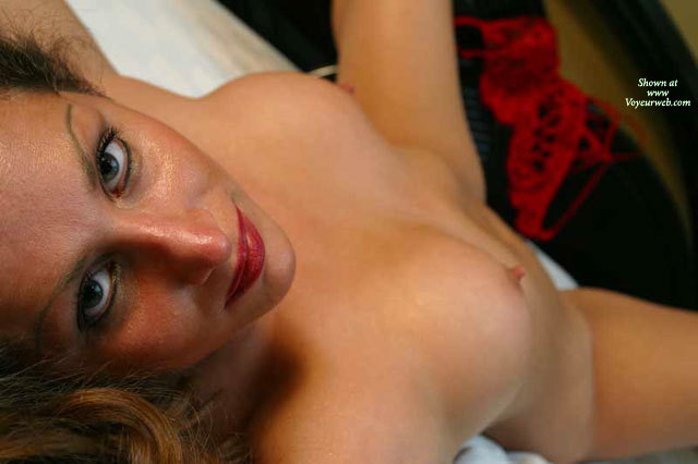 Pic #1 - Nude Laying On Bed With Legs Spread - Erect Nipples, Perky Nipples, Spread Legs, Naked Girl, Nude Amateur , Top View, Looking At Camera With Legs Spread, Seductive, Nude On Back Looking At Camera, Red Lips, Erect Small Nipples, Eraser Nipples, Pointed Erect Nipples, Pointed Nips, Beautiful Green Eyes