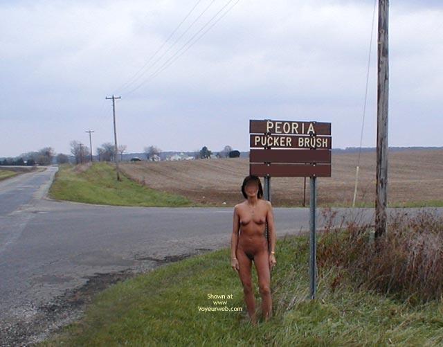 Pic #6 - Princessl A Naked Walk And Flashing