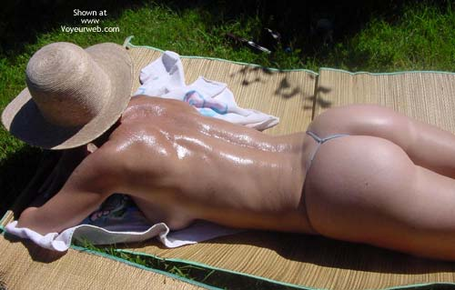 Pic #3 - Getting Some Sun