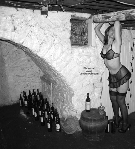 Pic #1 - Laila in The Wine Cellar