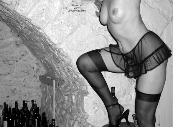 Pic #3 - Laila in The Wine Cellar