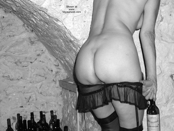 Pic #4 - Laila in The Wine Cellar
