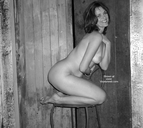 Pic #9 - Laila in The Wine Cellar