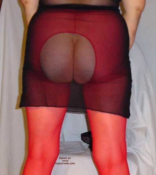 Pic #3 - Sassy PT - More Crotchless Pantyhose