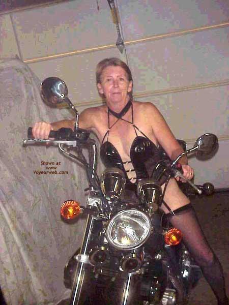 Pic #1 - The Wife on Bike