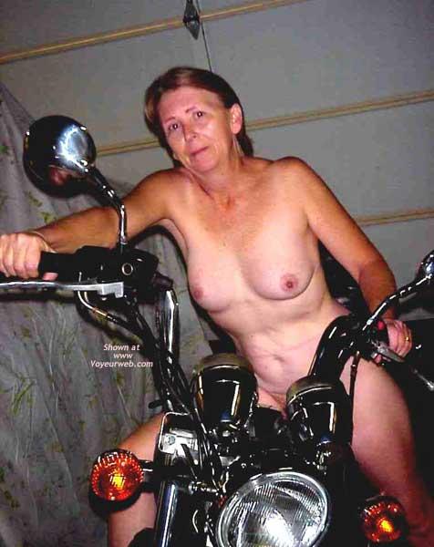 Pic #3 - The Wife on Bike