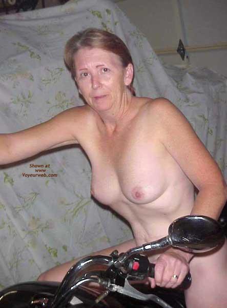 Pic #4 - The Wife on Bike