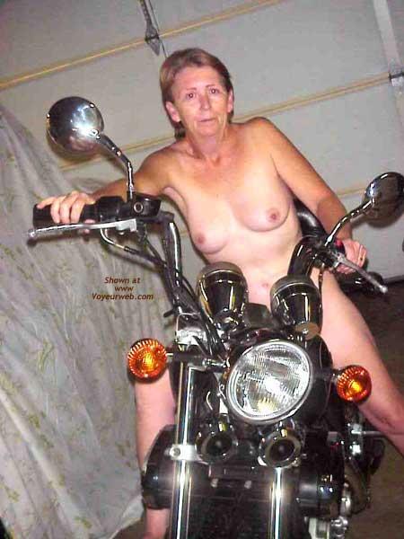 Pic #5 - The Wife on Bike