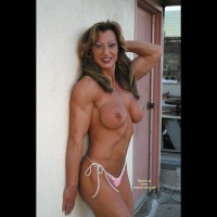 Gina Shows Muscle And More