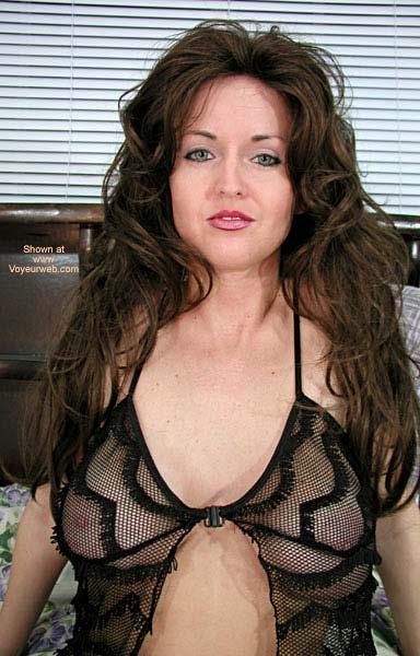 Pic #1 - Nadine in New Black Lingerie