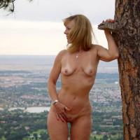 Natasha Hikes Cutler Trail