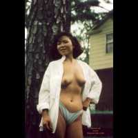 Chinese Ming Topless Outdoors