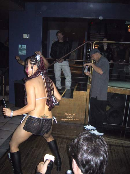 Pic #1 - Naughty Asian Gurl At a Club!