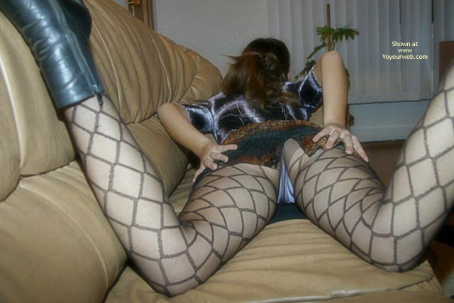 Pic #3 - Stockings On Pretty Ass