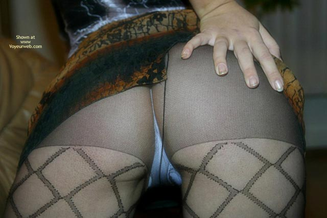 Pic #7 - Stockings On Pretty Ass