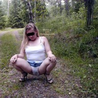 Linda From Sweden in Wet Panties