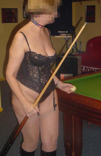Pic #1 - Tigerlady and Friend Play Pool 1