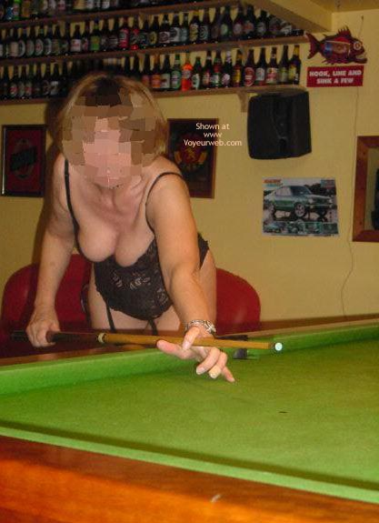 Pic #7 - Tigerlady and Friend Play Pool 1