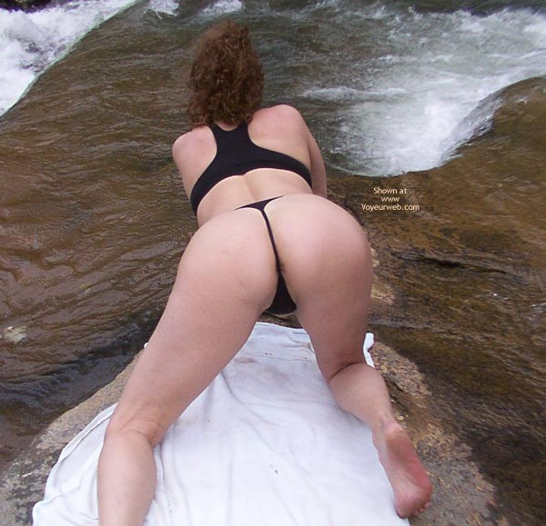 Pic #1 - Liz in The Great Outdoors!!