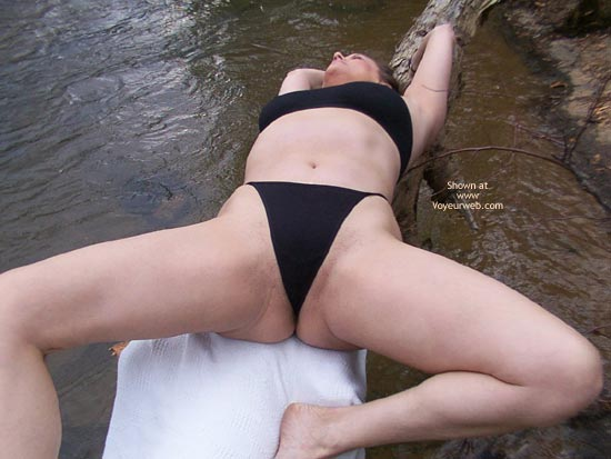Pic #3 - Liz in The Great Outdoors!!