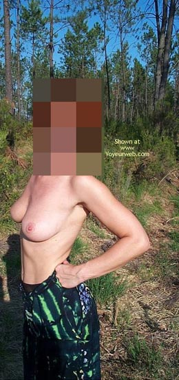 Pic #4 - Cindy in The Woods 3