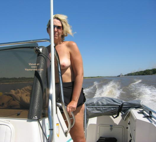 Pic #4 - Ms. CajunJoker on the water