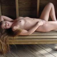 Long Blonde Hair - Erect Nipples, Long Hair, Naked Outdoors, Nipples, Nude Outdoors
