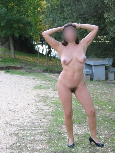 Pic #5 - Wife Exposed Outdoors 5