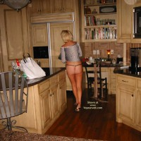 In The Kitchen, Pool and Garden