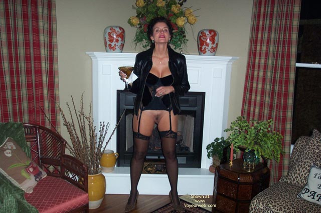 Pic #1 - Baby Doll Nipples and Stockings at Night
