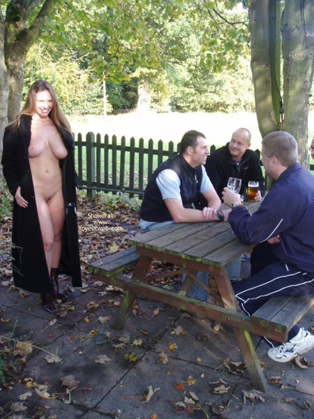 Pic #4 - *CO Busty Janey At The Pub!
