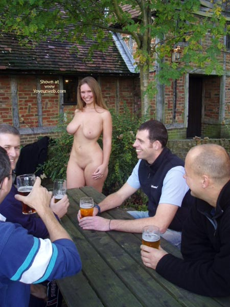 Pic #7 - *CO Busty Janey At The Pub!