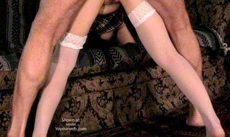 Pic #9 - Thigh Highs And The Couch