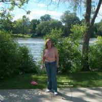 Jenny At The Public Park