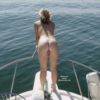 Naked On Boat - Nude On Boat, Rear View
