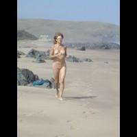 Sexy Shaggy On The Beach