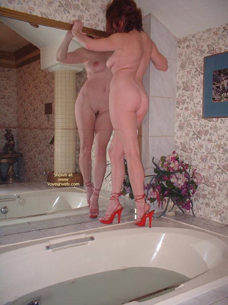 Pic #5 - My Beautifull Wife Red Stilletos