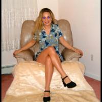 Adrianna Soprano'S Sexy Blue Sundress