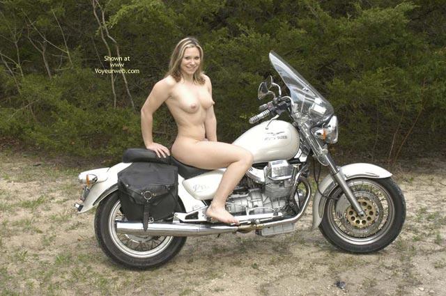 Pic #2 - Biker Slut