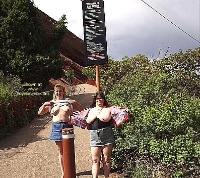 Pic #8 - *Gg Ddwife And Elly Miniskirt Walk