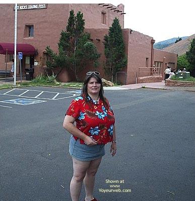 Pic #9 - *Gg Ddwife And Elly Miniskirt Walk