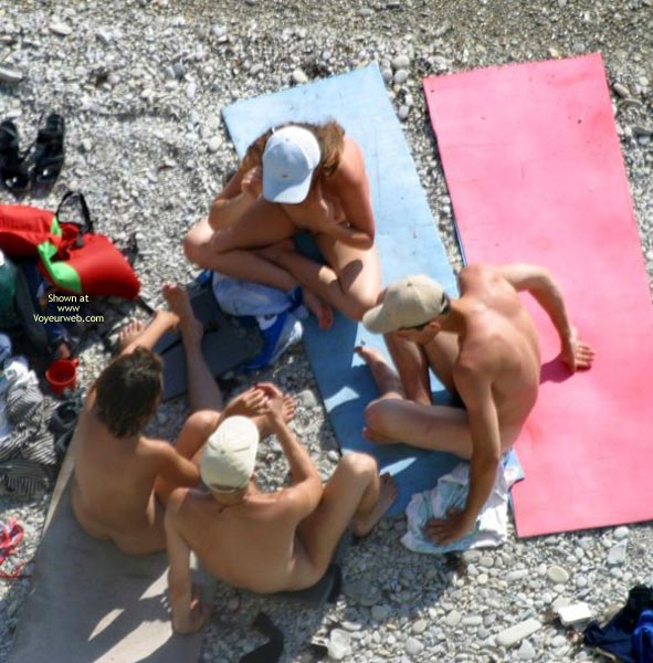 Pic #2 - Nude Students On Beach
