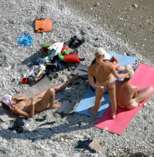 Pic #3 - Nude Students On Beach