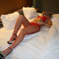 Hot Mama And I, Fucking In Fishnets: Part 2